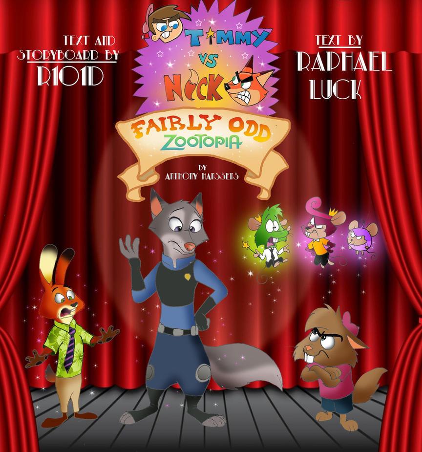 Fairly Odd Zootopia Poster 02 by FairytalesArtist