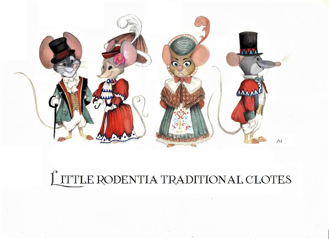 Victorian Zootopia Traditional Clothes 01 by FairytalesArtist
