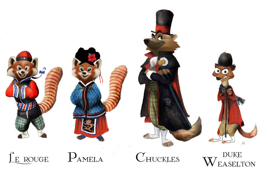 Victorian Zootopia Traditional Clothes 03 by FairytalesArtist