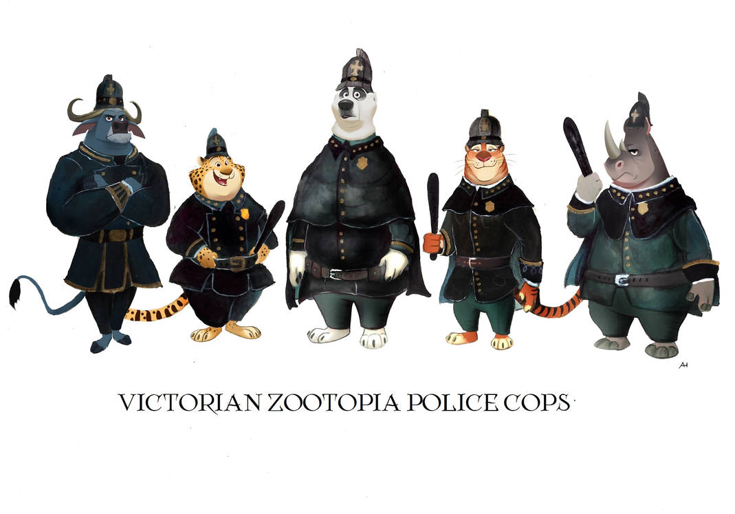 Victorian Zootopia Traditional Clothes 05 by FairytalesArtist