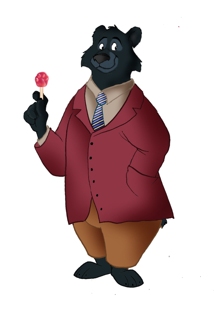 Zootopia Mr. Akando the grizzly bear by FairytalesArtist