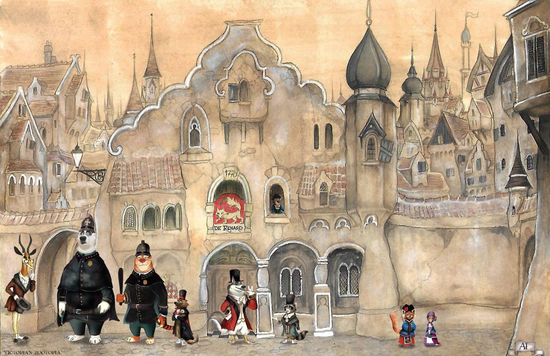Victorian Zootropolis by FairytalesArtist