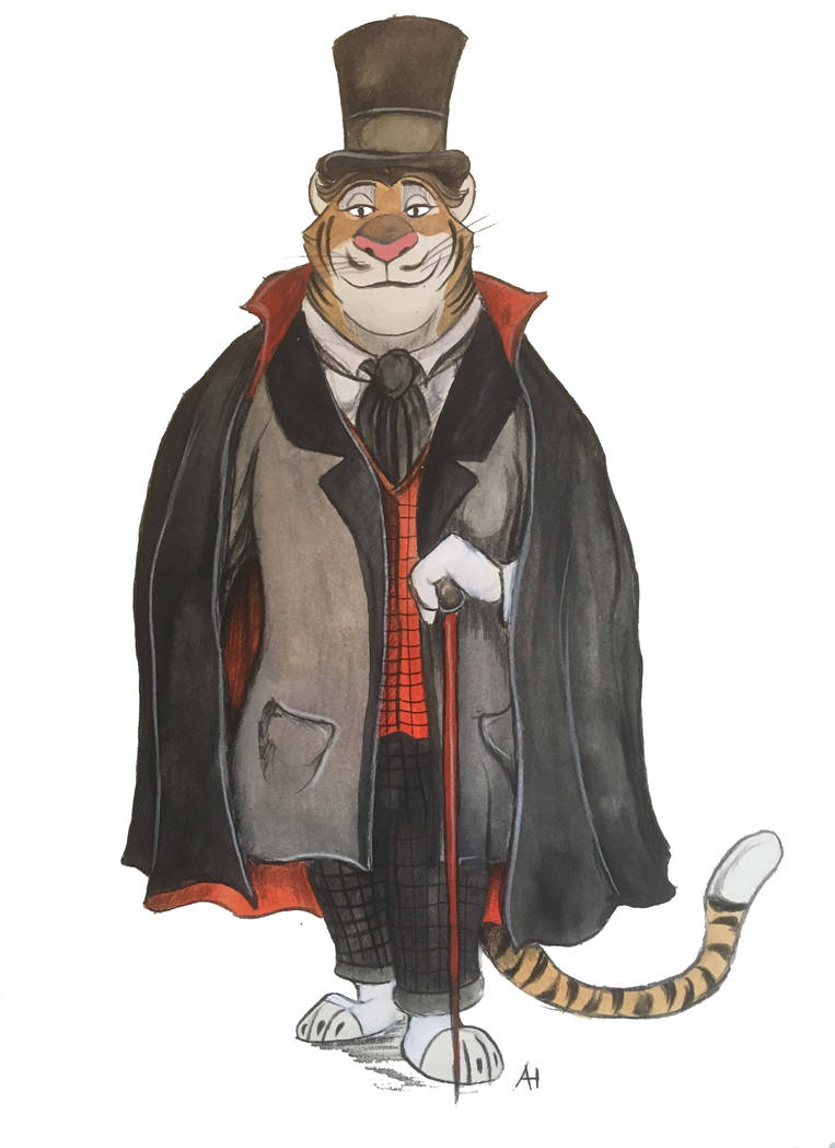 Victorian Zootopia Mr Tiger by FairytalesArtist