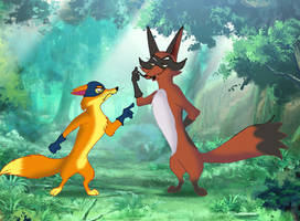 The Swiper and The Thievul