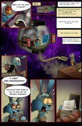 Space Cats page 13