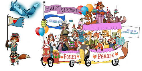 Make way for the Disney Foxes Parade