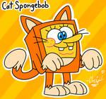 Cat Spongebob