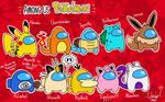 Among Us Pokemon