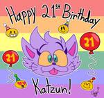 Happy 21st Birthday Katzun!