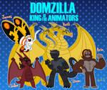 Domzilla King of the Animators by cdgzilla9000
