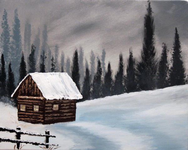 winter peace by Long4art