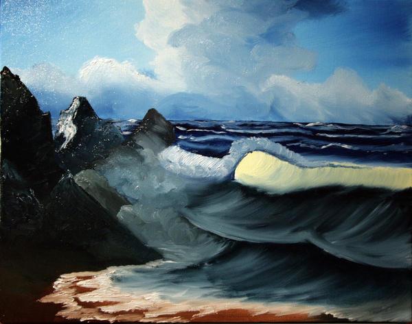Waves by Long4art