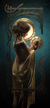 The Awe of Motherhood by Tiana Maros