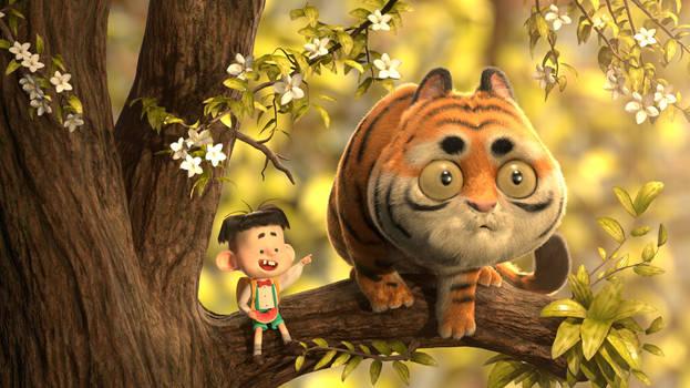 Tiger by Erica Liu