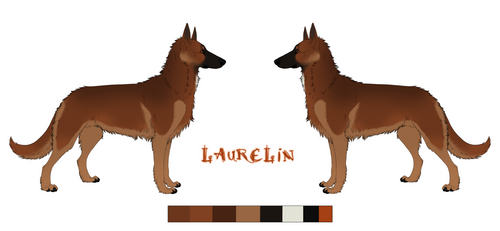 Laurelin Reference Sheet by BrambleBees