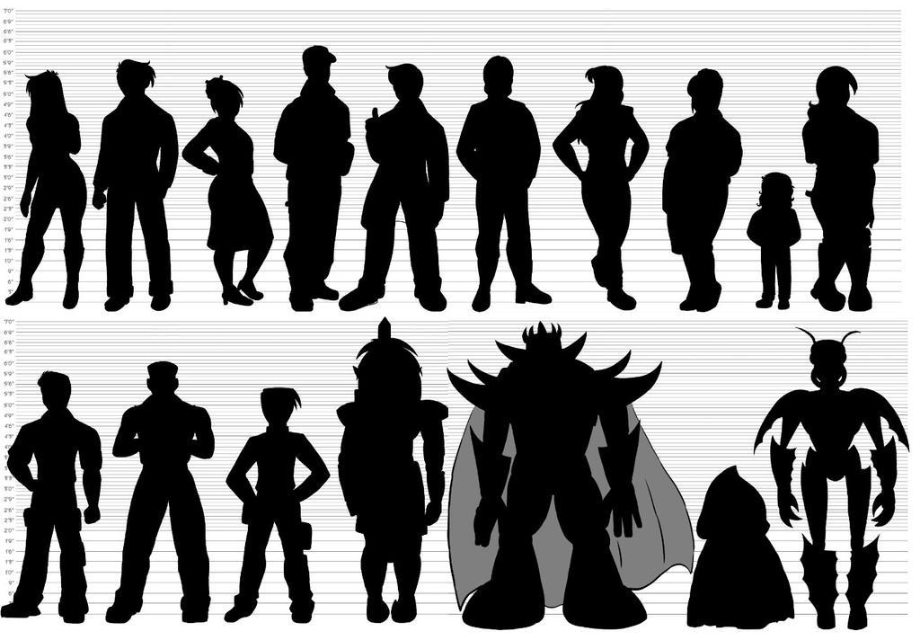 Character Design Silhouette Tutorial : Adrastus character designs silhouettes by lizstaley on