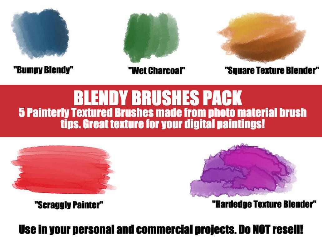 Blendy Brushes- Clip Studio Paint/Manga Studio 5 by lizstaley