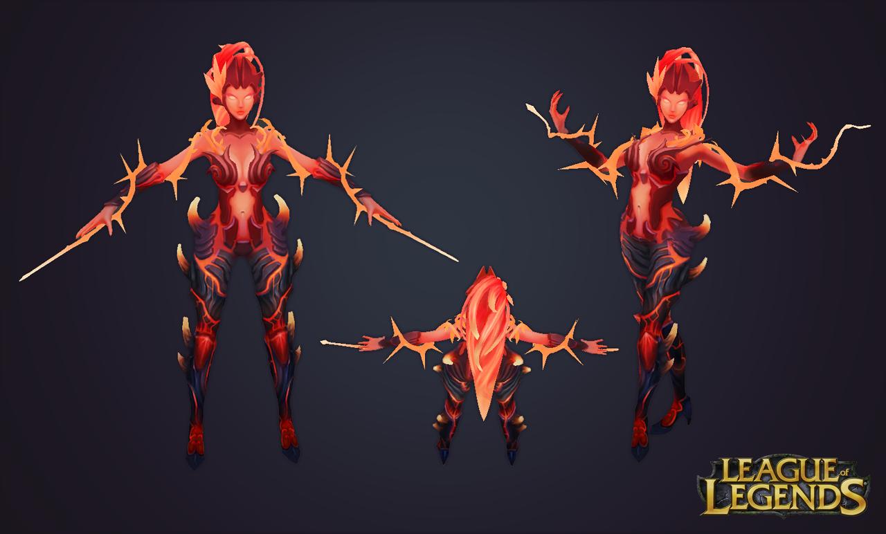 Zyra Wild Fire by sstrikerr