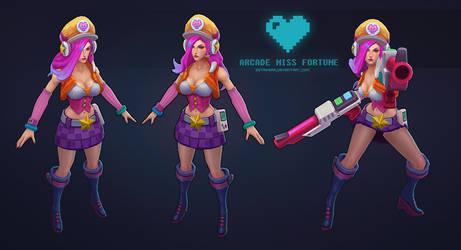 Arcade MissFortune T by sstrikerr