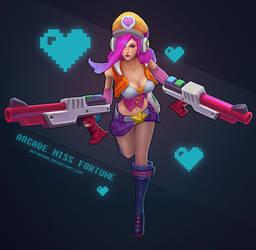 Arcade MissFortune B by sstrikerr