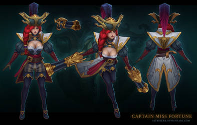 Captain Miss Fortune by sstrikerr