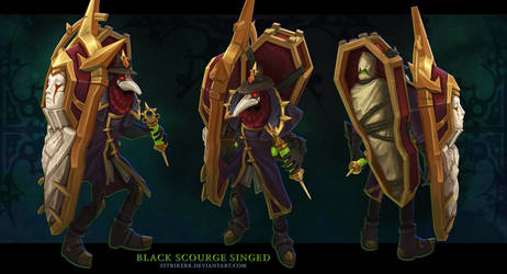 Black Scourge Singed by sstrikerr