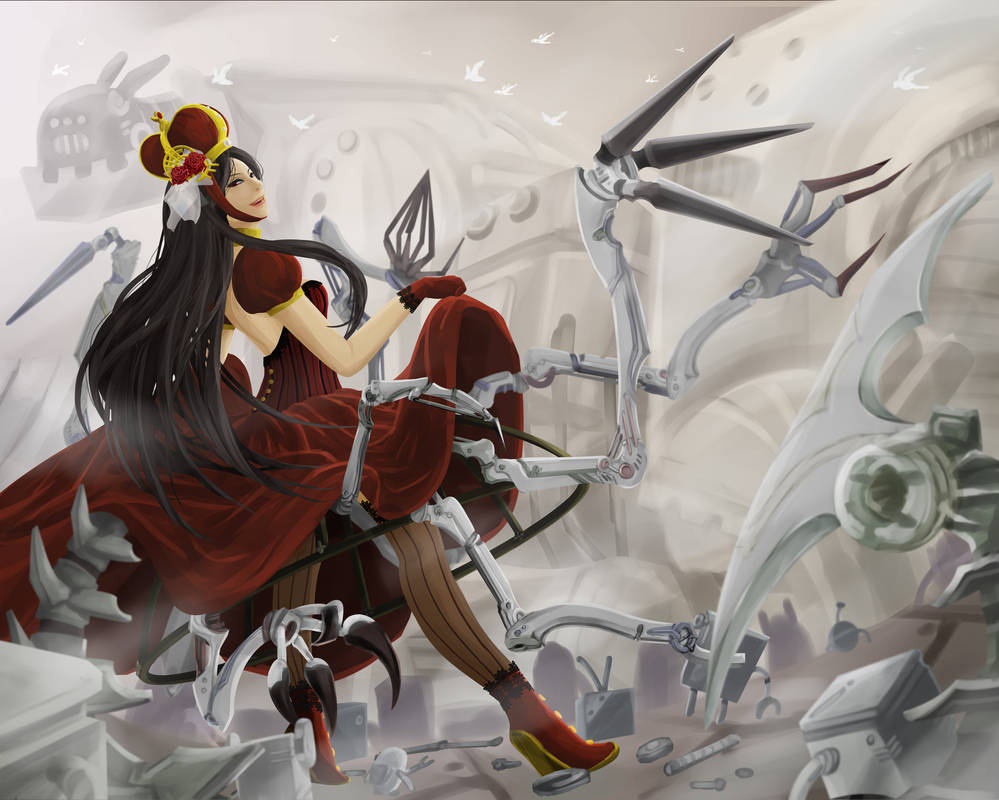 March of The Red Queen