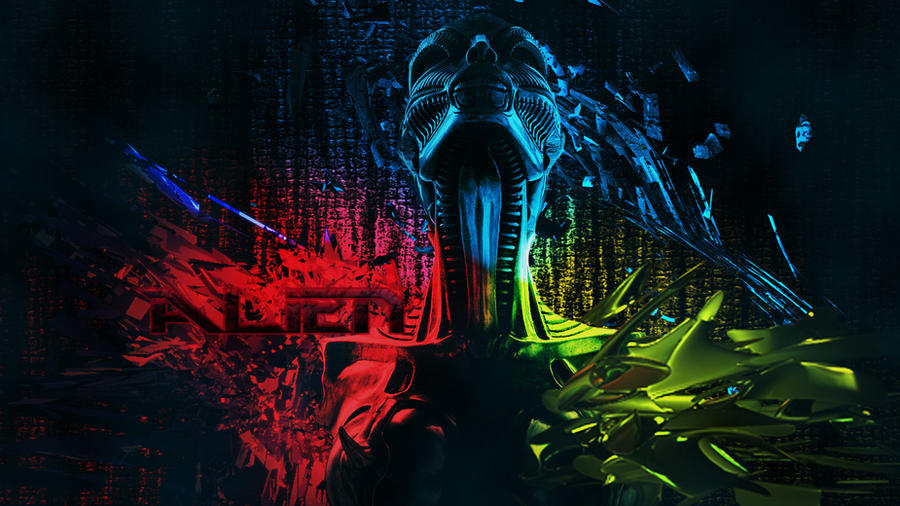 Alien Wallpaper By Phoenix Bih