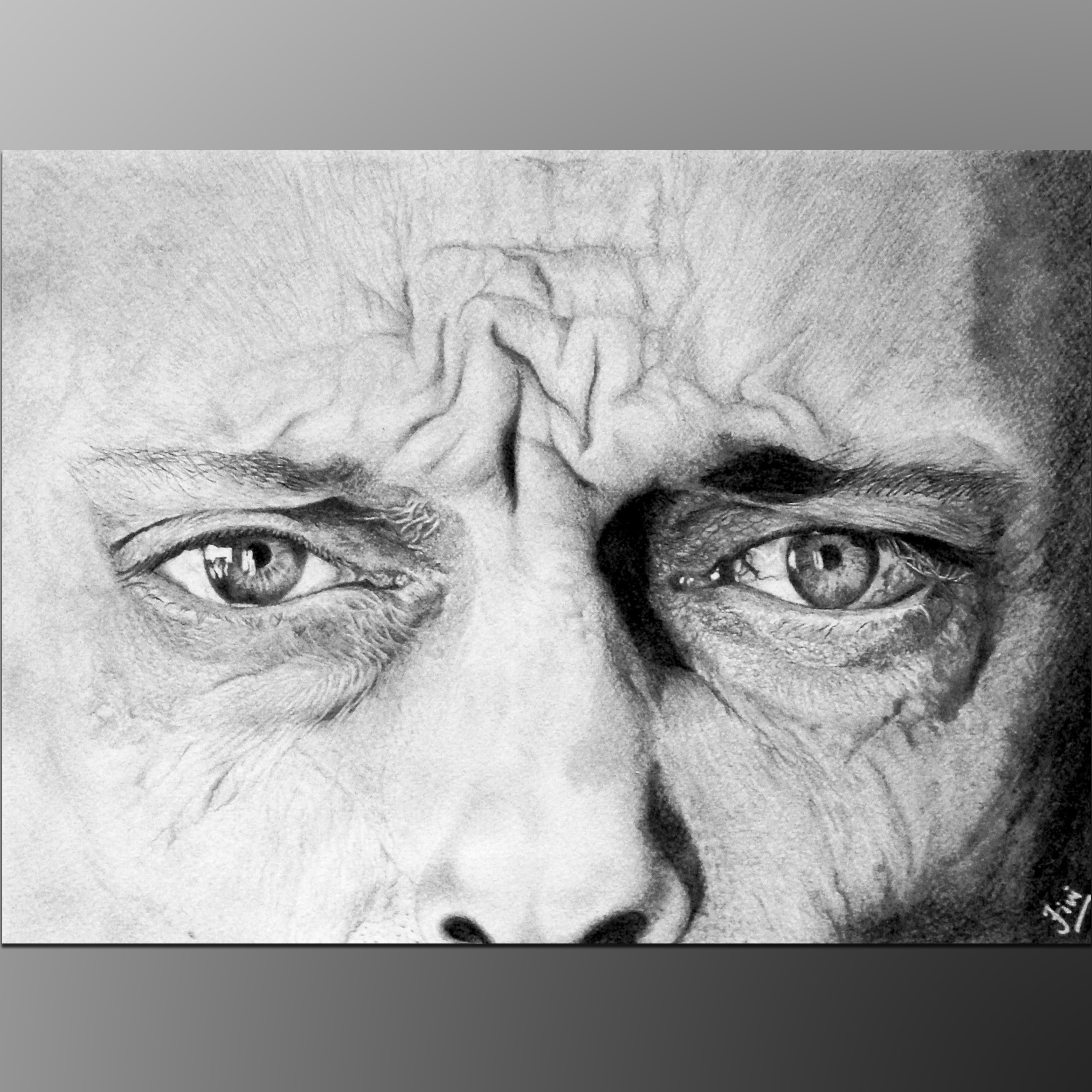Realistic Eye Drawing Sri