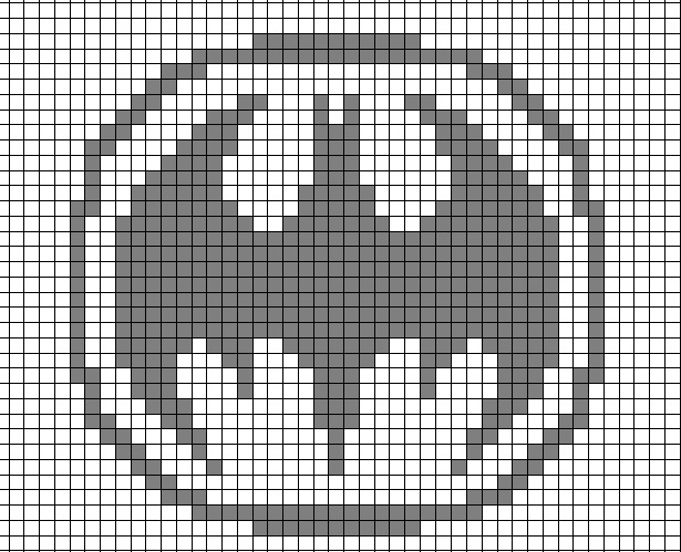 Batman Knitting Chart Pattern : Batman Knitting Chart by Lex-the-Sparrow on DeviantArt
