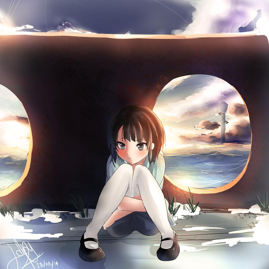 Nagi No Asukara - The moment i think of Him.. by Reviluke