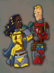 Camaraderie revisited by mighty-mando