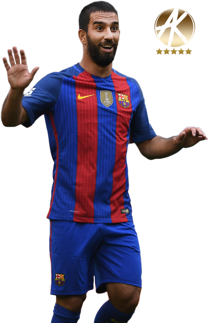 Arda turan render fc barcelona 2016 17 by akrenders on deviantart - Render barcelona ...