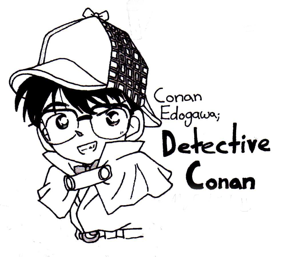 Conan Edogawa by Vampychicken
