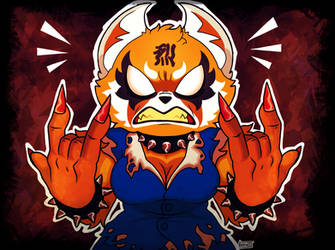 Aggretsuko, the furry from hell