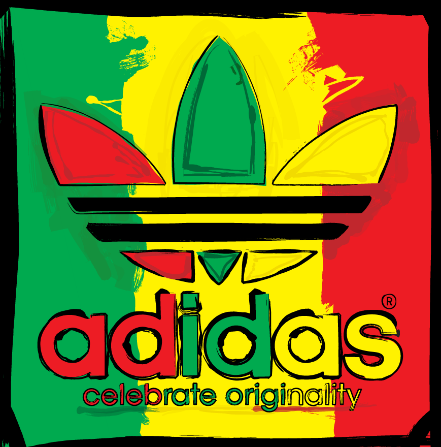 yellow adidas logo - photo #15