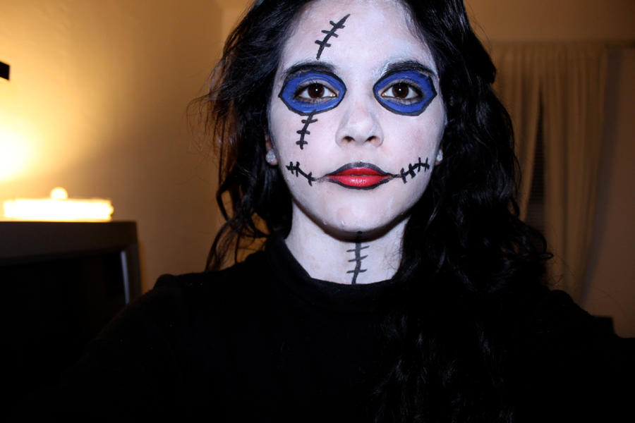 Sally Face Paint 2 by SkyeHigh186 on DeviantArt