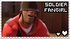 Team Fortress 2: Soldier Fangirl by smol-panda