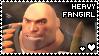 Team Fortress 2: Heavy Fangirl by smol-panda