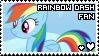 rainbow dash fan stamp by smol-panda