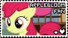 applebloom fan stamp by smol-panda