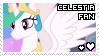 celestia fan stamp by smol-panda