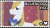 blueblood fan stamp by smol-panda