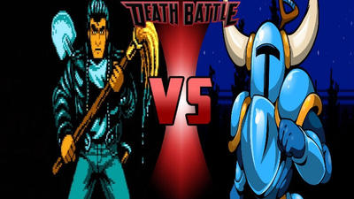 The Player vs. Shovel Knight by 6tails6