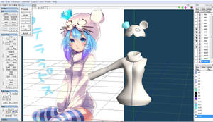 Aoki Lapis Mouse Outfit W.I.P by love-angel-sugar