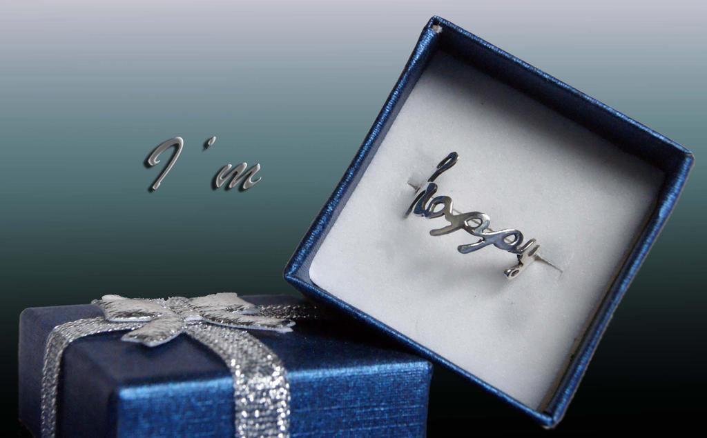 Happy ring by lyveisha