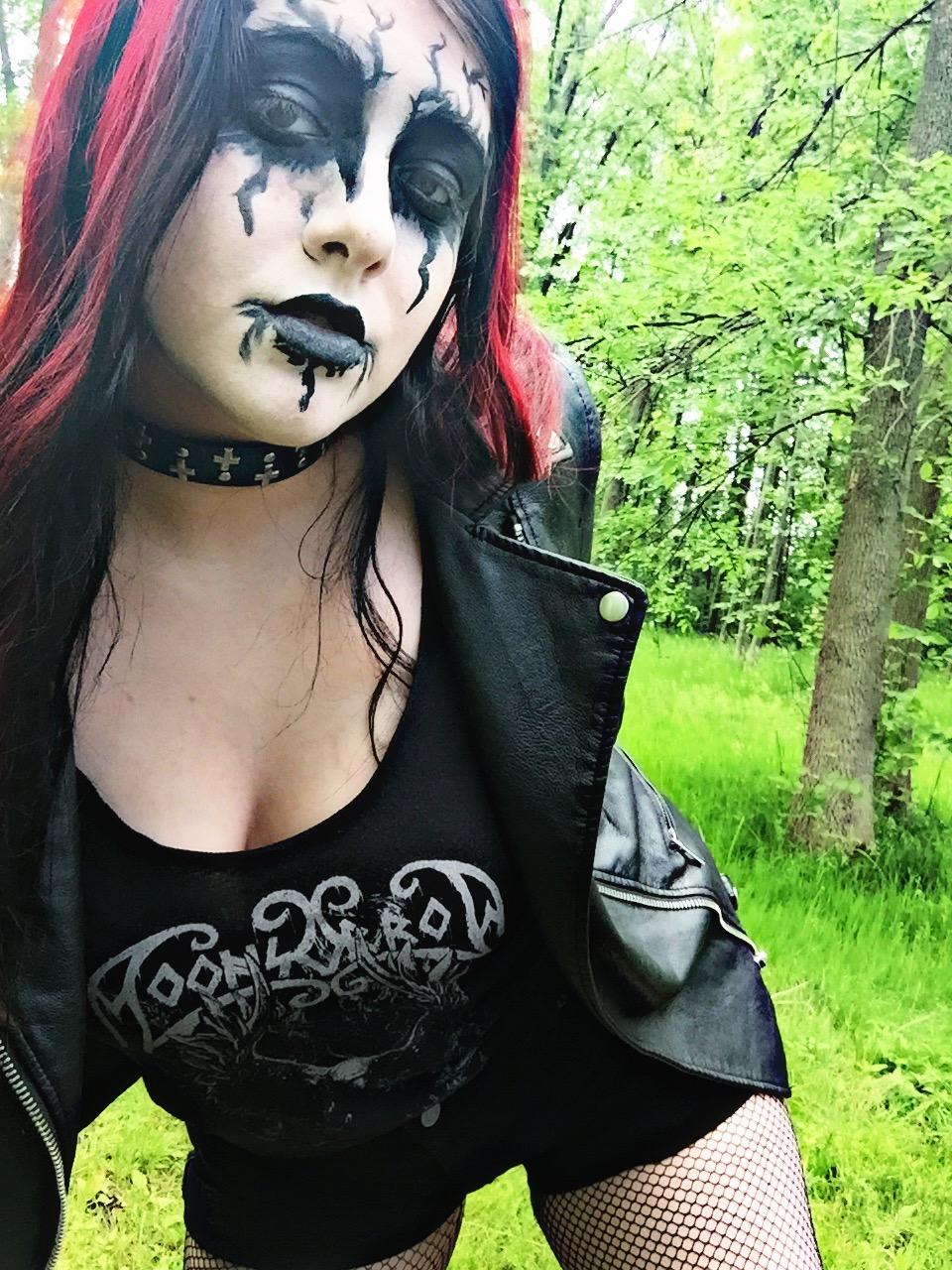 Girl black metal BBC NEWS