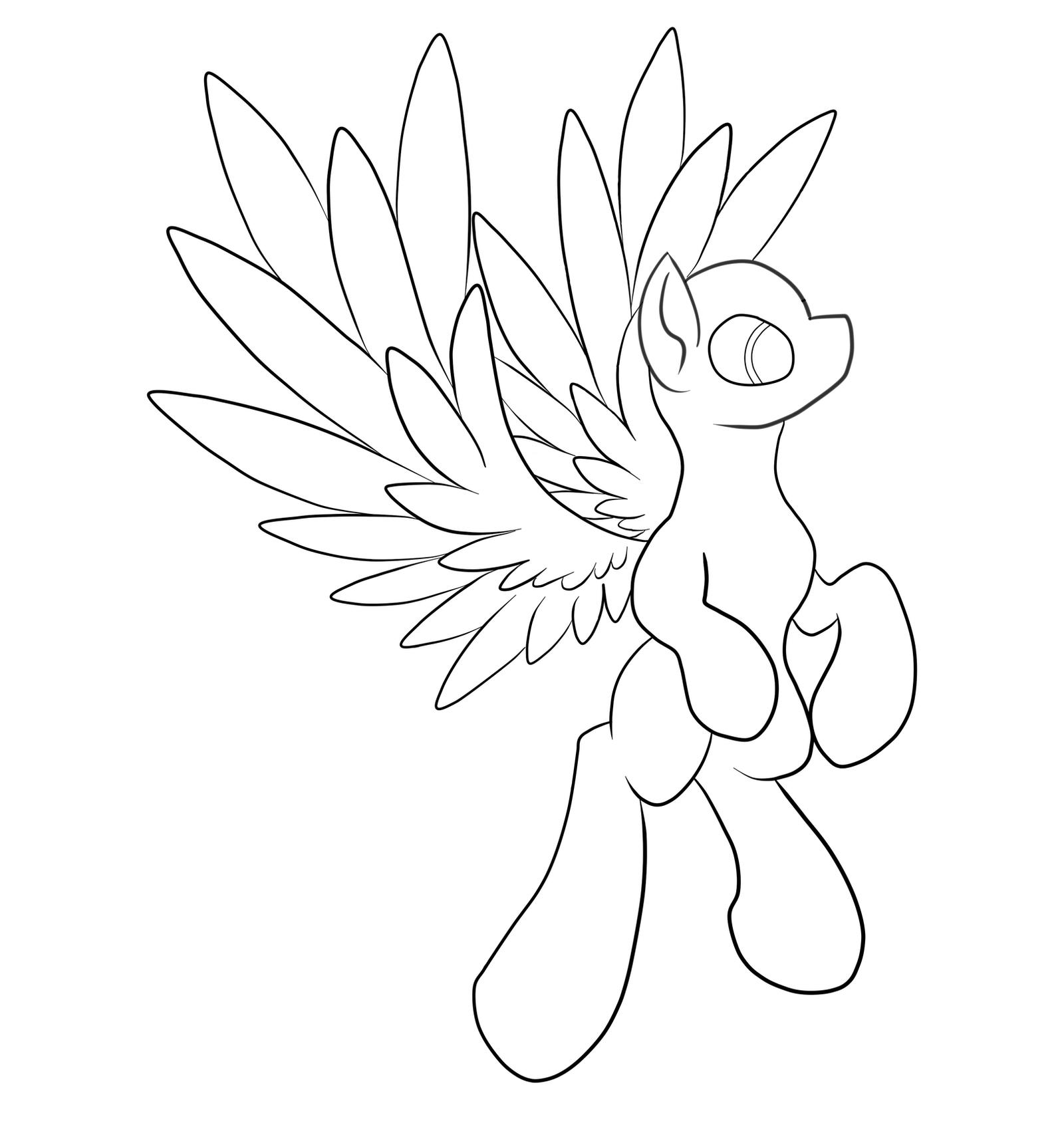 Mlp Pony Base Pegasus Viewing Gallery