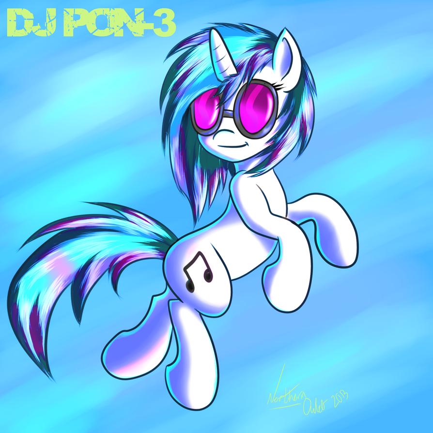 DJ PON-3 by AC-whiteraven