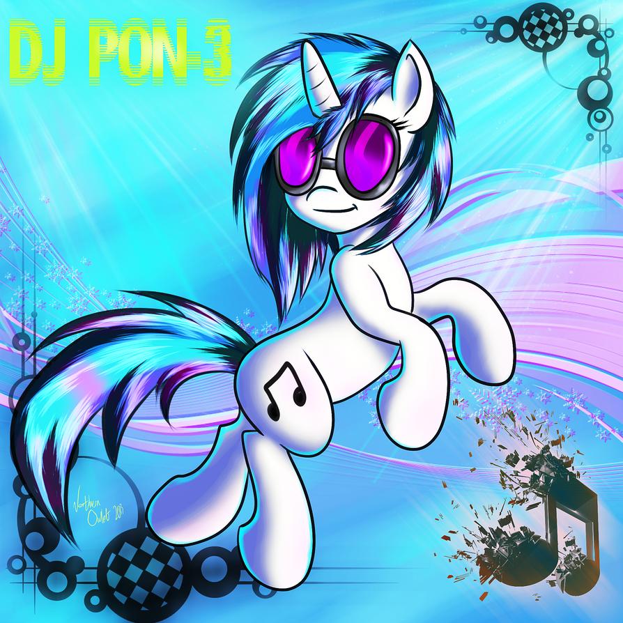 DJ PON-3 (ver.2) by AC-whiteraven